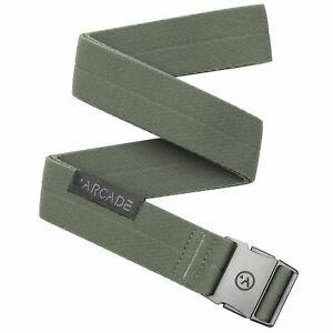 Arcade Adventure Ranger Slim Belt Ivy Green One Size
