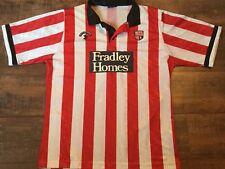 1990 1991 Stoke City Home Football Shirt Adults Large Soccer Shirt Jersey Maglia