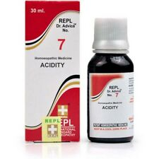 Homeopathic REPL Dr. Advice No.7 Acidity 30 ml Drops For Indigestion Free Ship