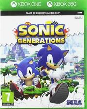 Sonic Generations - XBOX ONE IMPORT Neuf - Fonctionne aussi sur XBOX 360