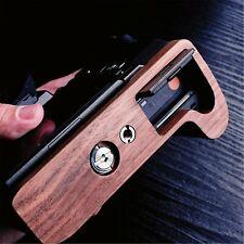 Walnut Wooden Wood Hand Grip Plate Bracket For Fuji X H1 XH1 Fujifilm X H1