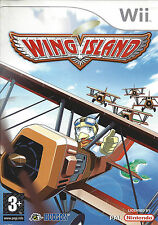 WING ISLAND for Nintendo Wii - with box & manual - PAL