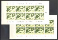 BELGIUM BELGIE RED CROSS -1963 - 2 DIF RX BOOKLETS ** MNH VF