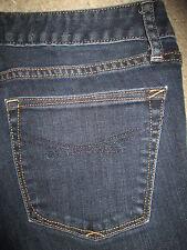 GAP 1969 Curvy Flare Stretch Dark Blue Denim Jeans Womens Size 4 A x 29