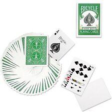 Green Rider Back Deck-Bicycle poker carte da gioco