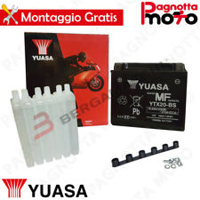 BATTERIA YUASA YTX20-BS C/ACIDO BUELL  1000 / 1200