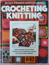 Crocheting & Knitting 50+ Home projects HB 1977 illustrated