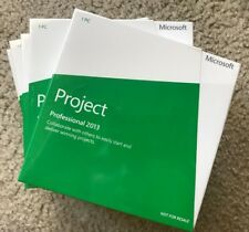 Microsoft Project 2013 Professional WITH DISC 32/64 BIT