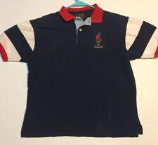 Atlanta 1996 Olympics Games Collection Hanes Men's Polo Shirt USA Sz M
