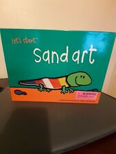 (Lets Start) Sand Art Kit Silver Dolphin.