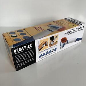 Homedics InfraTech Max Dual Heat Body Massager IR-610 Thermal w/ attachments