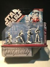 "STAR WARS BATTLE PACK UNLEASHED ""ATTACK ON TANTIVE IV "" Stormtroopers Boarding"