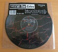 "AT THE GATES / DECAPITATED Split 7"" Vinyl RARE Earache Records Picture Disk"