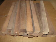"THIRTY-TWO (32) 12"" LONG BLACK WALNUT PEN / SPINDLE LATHE BLANKS 1 X 1 X 12"""