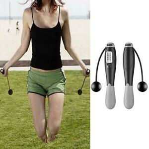 Digital Counting Jump Rope Calorie Fitness Electronic Wireless Skipping Rope.