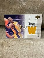 KOBE BRYANT⚡️2004 Upper Deck Glass Clearcut Winners /350 Jersey Patch🔥Lakers