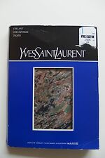 Yves Saint Laurent, Bunt Strumpfhose, Glanz, mit Naht, Nahtlose Bund, M  Neu