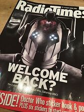 Doctor Who Radio Times 2006 Rise Of The Cybermen David Tennant Series 2 NEW COPY