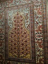 Türkischer Seidenteppich Teppich mit Zertifikat Kayseri Pure Silk Rug