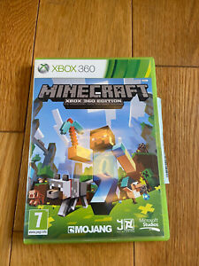 Minecraft Xbox 360 Game PAL Tested Working