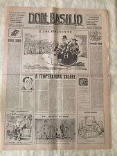 Don Basilio n.7 - 12 febbraio 1950 settimanale satirico d'opposizione