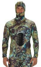 """NEW"" RIFFE Lycra Spearfishing Suit Digi-Tek Size - Large Beavertail Hooded Top"