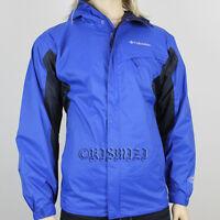 "New Mens Columbia ""Watertight"" Omni-Tech Packable Rain/Wind Jacket S to Big&Tall"