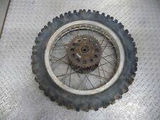 Yamaha DT400E Akront Rear Wheel (110/100-18) with Sprocket #T13