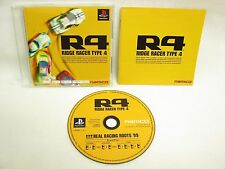 R4 RIDGE RACER TYPE 4 PSone Books PS1 Playstation Japan Game p1