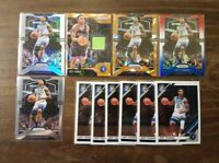 Jeff Teague Lot - Silver Holo, Cracked Orange Ice Swatch, Red White Blue