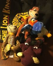 Disney The Lion King Broadway Musical VIP Cap Nala Timon Plush Tote Bag Lot of 6