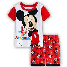 Infantil Niño Niña Verano Trajes Camiseta + Pantalones cortos ropa set