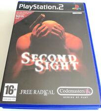 SECOND SIGHT PS2 PLAYSTATION 2 ITALIANO COMPLETO PAL SPED GRATIS SU + ACQUISTI!!