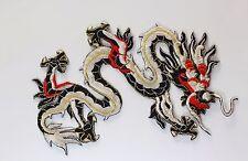 Gran parche de adorno Dragón Parches Motif Coser En Hierro En
