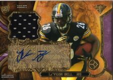 2013 Topps Triple Threads Le'Veon Bell Rookie Auto Jersey /75 Steelers