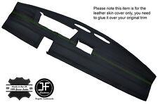 Cuciture verde DASH Dashboard Leather Cover Adatta FIAT 126 CLASSIC