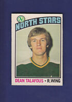 Dean Talafous 1976-77 O-PEE-CHEE OPC Hockey #103 (EX) Minnesota North Stars