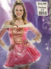 Disney Princess Aurora adult costume M Sz 6 8 Sleeping Beauty