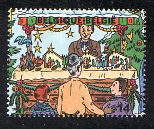 Belgien Jahrgang 1996 Blockmarke Michel 2727 ** Weihnachten Zeichnungen Märkte