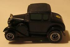 AFX '30 Ford Model A Coupe, Black, Non-Magnatraction Chassis with Silicone Tires