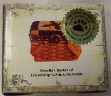 Boyds Treasure Box Rosella'S Basket Of Friendship, Sewing Basket