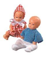 Puppenstuben Puppen Puppenhaus Puppen Plastik Baby 2er Set 6 cm Schwenk 11506...