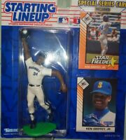 Sealed Ken Griffey Jr. 1995 Kenner Starting Lineup Special Series Card Included