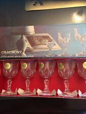 CristalD Arques Chaumont Cordial Glasses (6) In Box