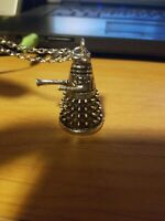 Loot Crate Exclusive Metal Spiky Megaphone Pendant Necklace (USED)