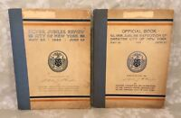 2 Books on Silver Jubilee Exposition of Greater New York City 1923 1st Edition