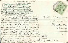 Miss Wilkinson. 14 Victoria Road, Dorchester, Dorset 1906   RL.236