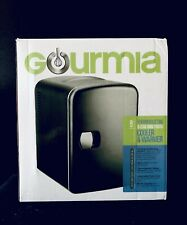 Gourmia Thermoelectric 6-Can Cooler and Warmer Mini Fridge