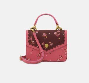 cath kidston mini leather bag wimbourne ditsy Rrp £125 , Box K2