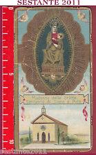 1697 SANTINO HOLY CARD MADONNA DELLE GRAZIE SANTUARIO DI SIANA A PAOLA